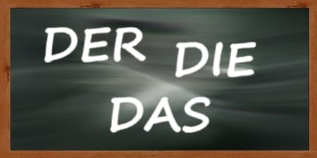 German Articles - der die das