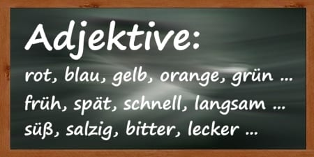 German Adjectives