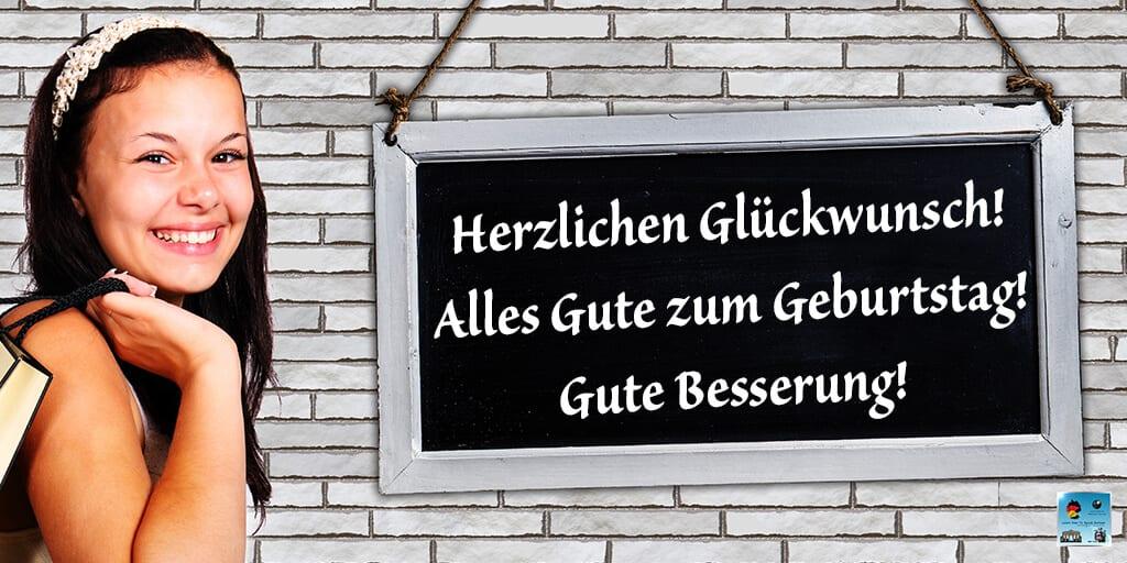 Happy Birthday in German